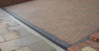 Domestic Channel Drainage with Plastic Grate 1m - Home Improvement Supplies Ltd