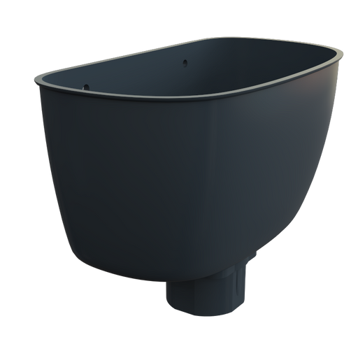 Universal Downpipe Hopper Grey - Home Improvement Supplies Ltd
