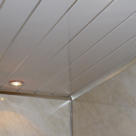 White Double Chrome Pre-inserted Strips 2.7mtrs x 250mm x 8mm - Home Improvement Supplies Ltd