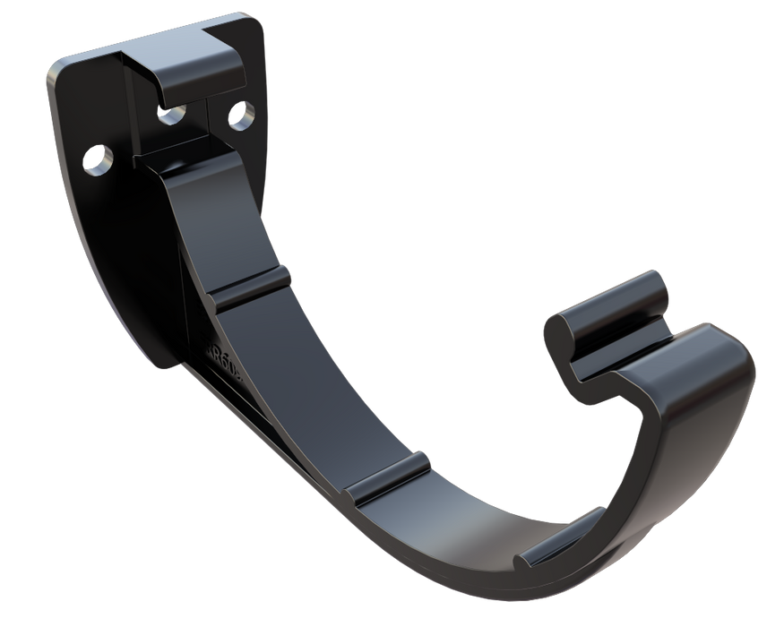 Freeflow Half Round Gutter Bracket black - Home Improvement Supplies Ltd