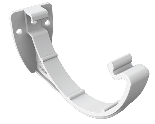 Freeflow Half Round Gutter Bracket white - Home Improvement Supplies Ltd
