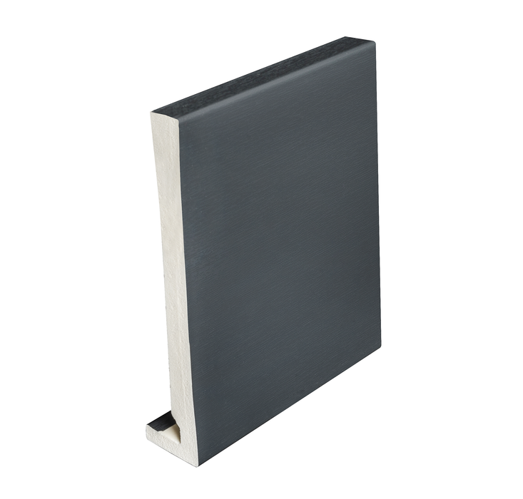 Modern Anthracite Grey Fascia Board 16mm - 5mtrs or 2.5mtrs - Home Improvement Supplies Ltd