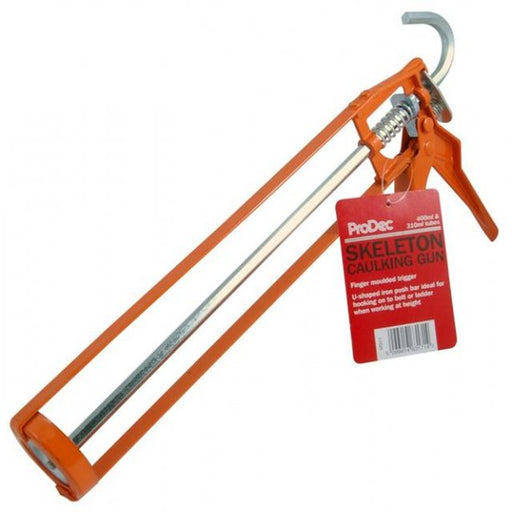 Orange Skeleton Silicone Caulking Gun - Home Improvement Supplies Ltd