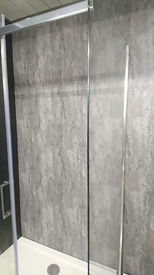 Silver Retro Metallic Wall Cladding 2.4mtrs x 600mm x 7mm Per Panel - Home Improvement Supplies Ltd