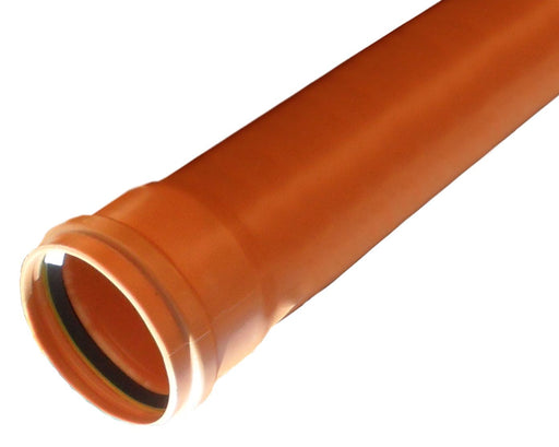Underground Drainage Pipe Socketed 110mm - Home Improvement Supplies Ltd