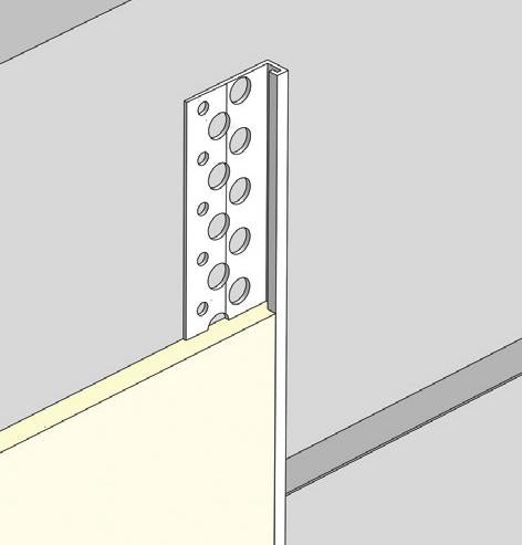 6mm Stop Rendering Bead 8ft - Home Improvement Supplies Ltd