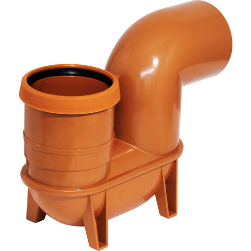 Underground P Trap Gulley 110mm - Home Improvement Supplies Ltd