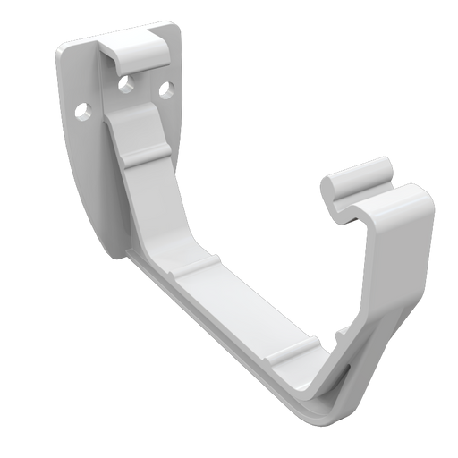 Freeflow Square Gutter Bracket White - Home Improvement Supplies Ltd