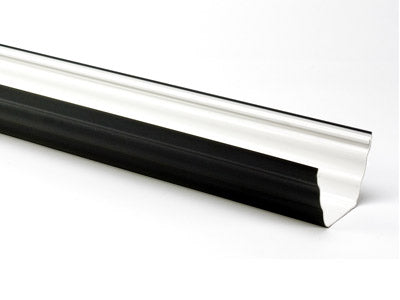Freeflow Ogee Gutter 4mtrs Or 2mtrs Black - Home Improvement Supplies Ltd