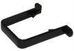 Black Square Downpipe Pipe Clip - Home Improvement Supplies Ltd