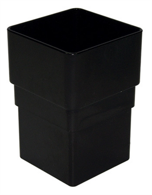 Black Square Pipe Socket - Home Improvement Supplies Ltd