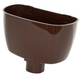 Universal Downpipe Hopper Brown - Home Improvement Supplies Ltd
