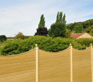 Fencing Top Concaved or Convexed - Home Improvement Supplies Ltd