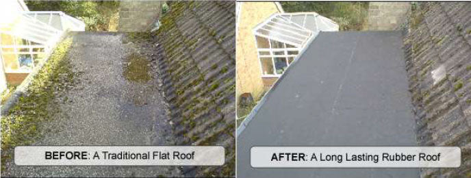 Firestone EPDM Flat Roof Rubber Membrane a Sqm - Home Improvement Supplies Ltd