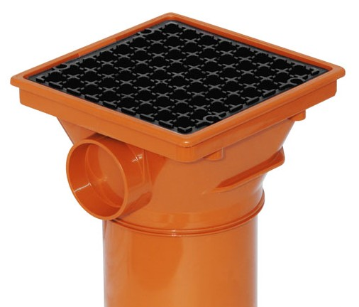 Underground Square Hopper 110mm - Home Improvement Supplies Ltd
