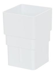 White Square Pipe Socket - Home Improvement Supplies Ltd