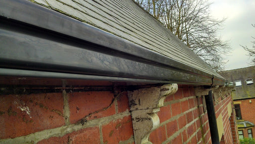TwinPlas Wood Effect Gutter Lengths - Home Improvement Supplies Ltd