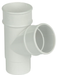 Round Downpipe Branch 112 Degrees White - Home Improvement Supplies Ltd