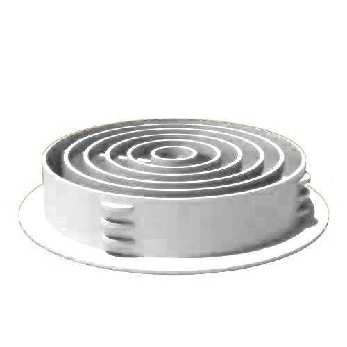 Circular Vent Soffit Board Insert - Home Improvement Supplies Ltd