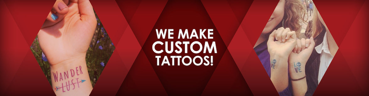 Make custom tattoo