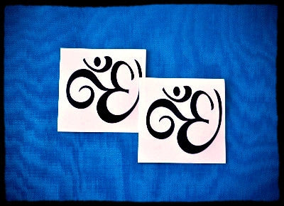 Yoga Aum Symbol Temporary Tattoo