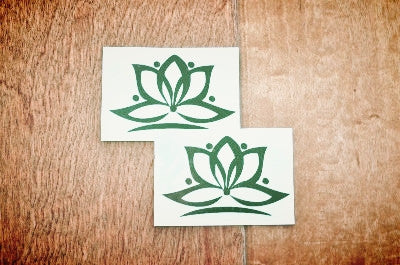 Lotus Flower Temporary Tattoo