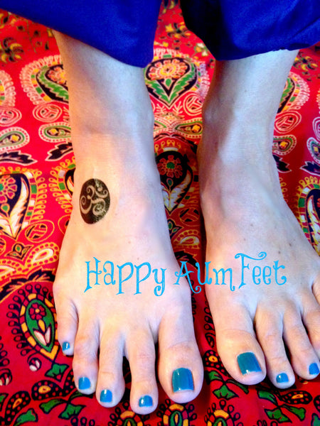 Yoga Aum Temporary Tattoo