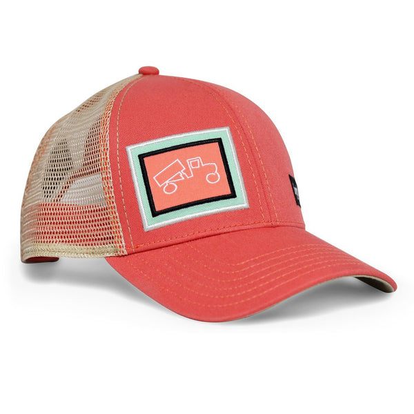 Big Truck Salmon and Khaki Hat - myTaT