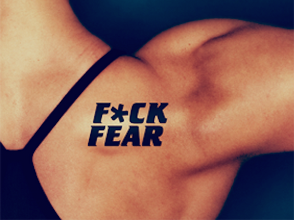 F*CK FEAR Tattoo Set
