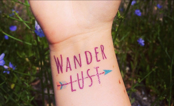 Wanderlust Tattoo Set