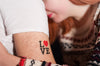 Love Temporary Tattoo - MyTaT
