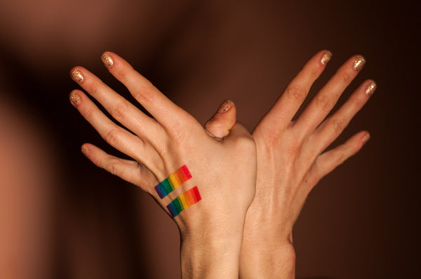 Pride Equality Bars Temporary Tattoo MyTaT