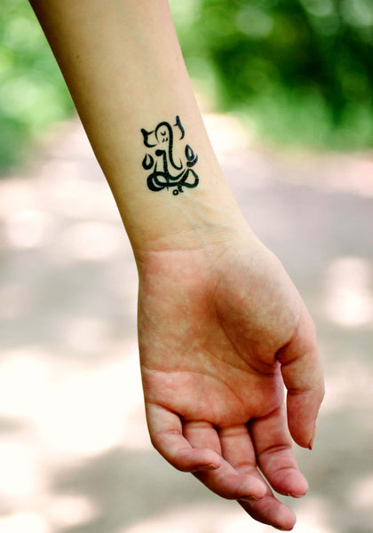 Yoga Minis Tattoo Set