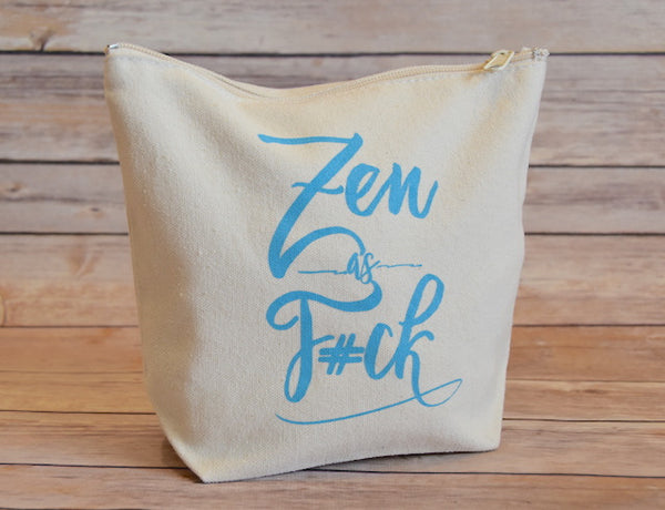 Canvas Everything Pouch - Zen as F*ck