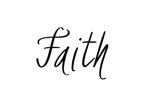 Faith Temporary Tattoo Set