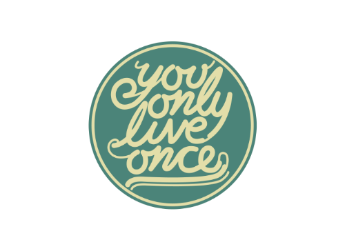 Inspiring, You Only Live Once, YOLO Tattoo Set