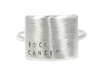 Christina Kober Silver Message Ring - myTaT
