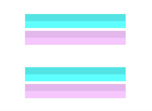 LGBT Pride, Transgender Equality Bars Temporary Tattoo