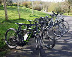 LEASE YOUR OWN ELECTRIC BIKE FLEET FROM €180 PER MONTH.