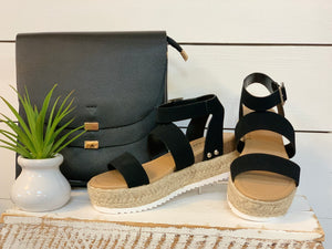 Bryce sandals - Caroline's Boutique Indiana
