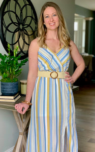 Striped Cami Dress - Caroline's Boutique Indiana