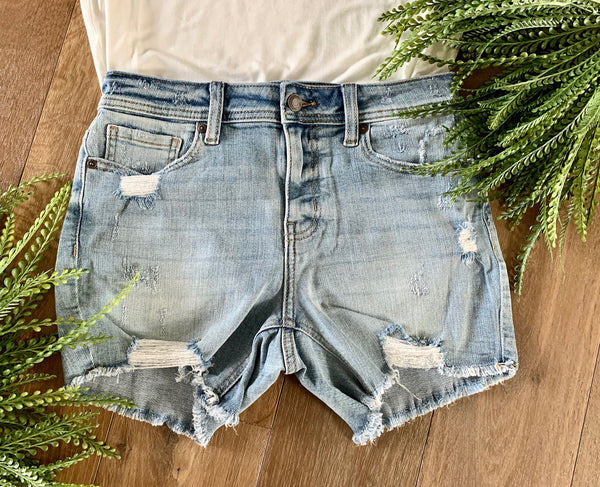 Jean Shorts - Caroline's Boutique Indiana