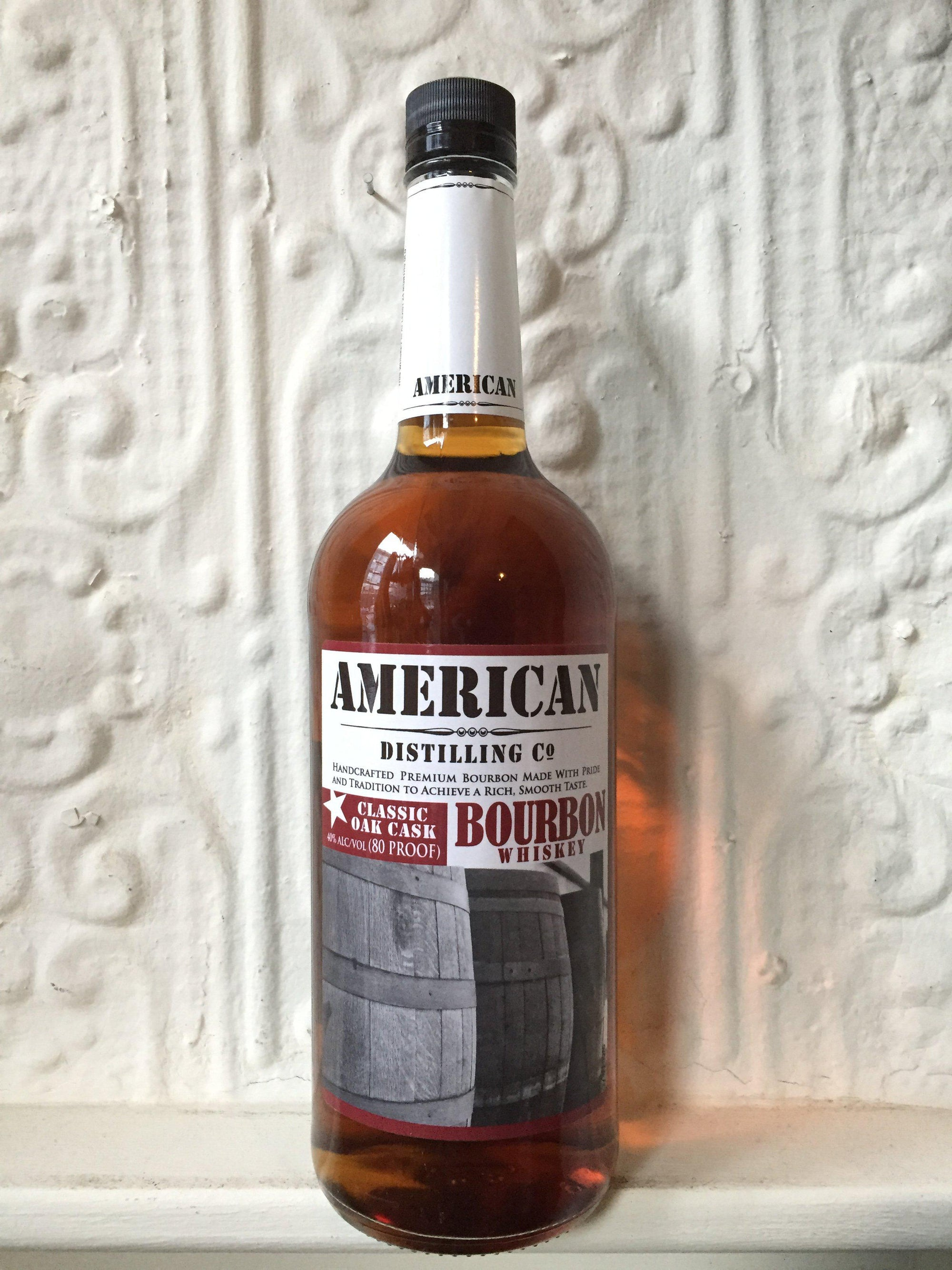 3 Year Old Bourbon Liter, American Distilling Co. (California, United States)-Spirits-Bibber & Bell