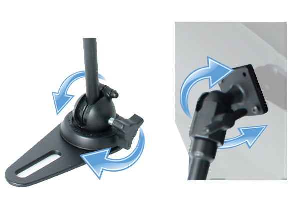 adjustable tablet mounting