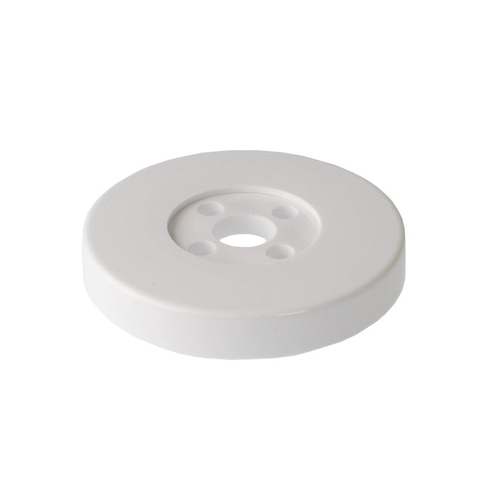 S-Line White Pole Mount Screw Plate