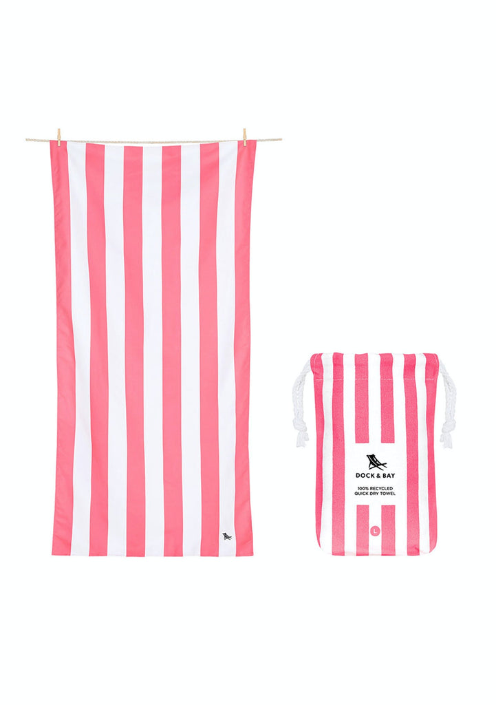Dock & Bay Beach Towel Kuta Pink