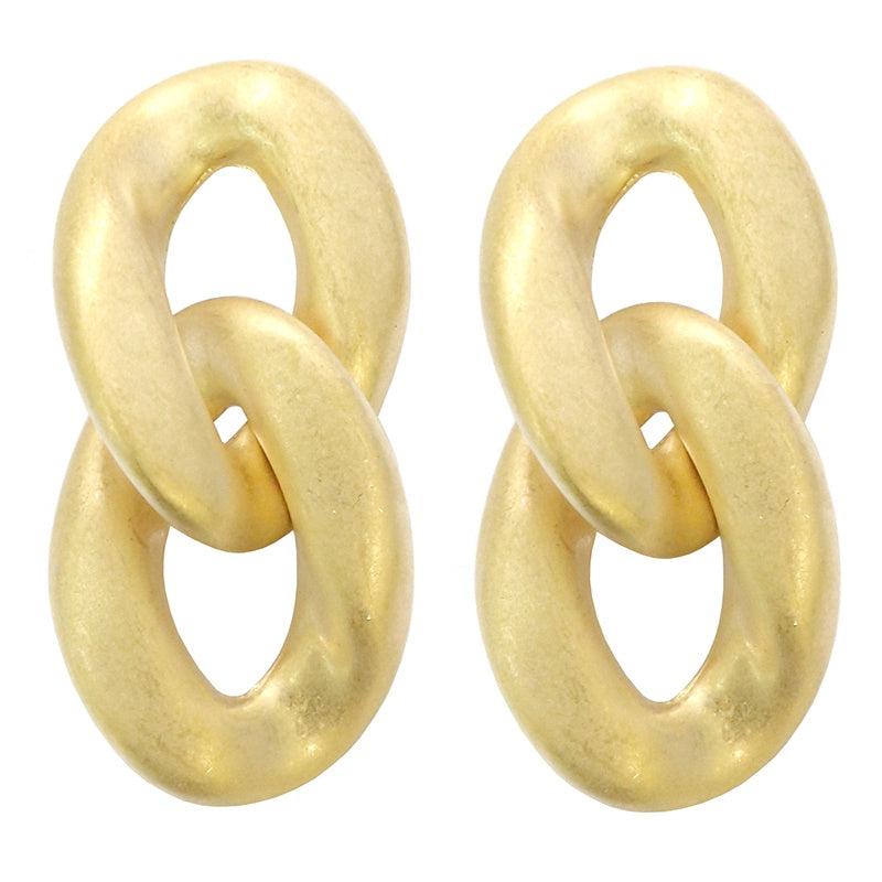 Yana Earrings Gold