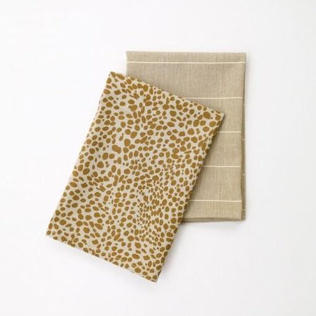 Raine + Humble Animal Print Tea Towel 2pack