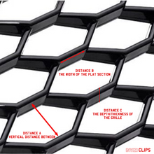 Load image into Gallery viewer, INVIZICLIPS FOR AUDI HONEYCOMB GRILLES (FILL IN DIMENSIONS)
