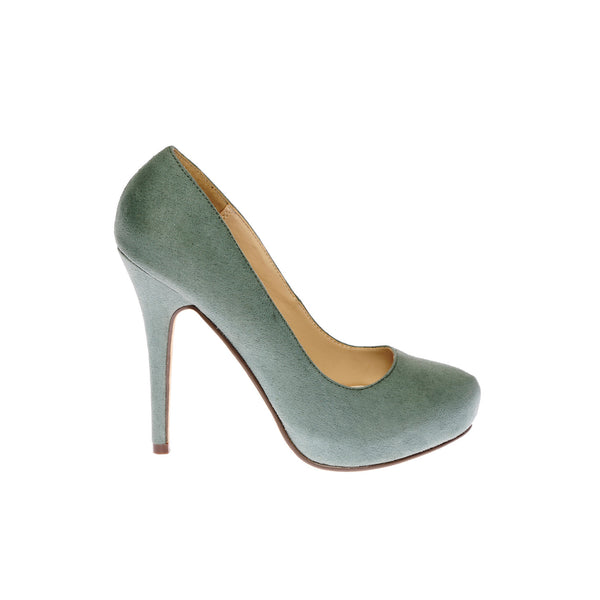 LOVEME-SUEDE-2 BOTTLE GREEN